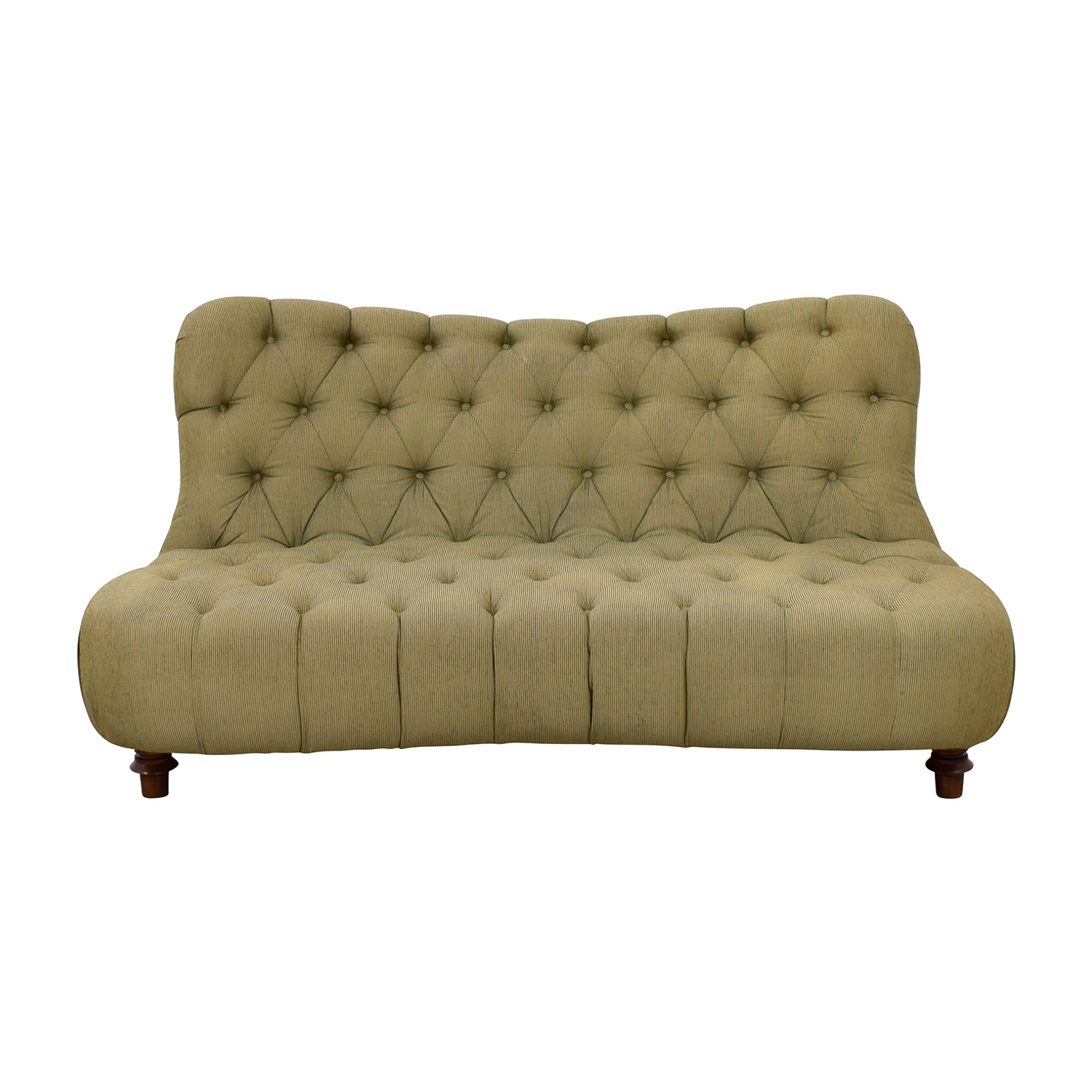 buy  Green Tufted Loveseat online