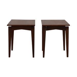 Jens Risom Design Wood End Tables sale