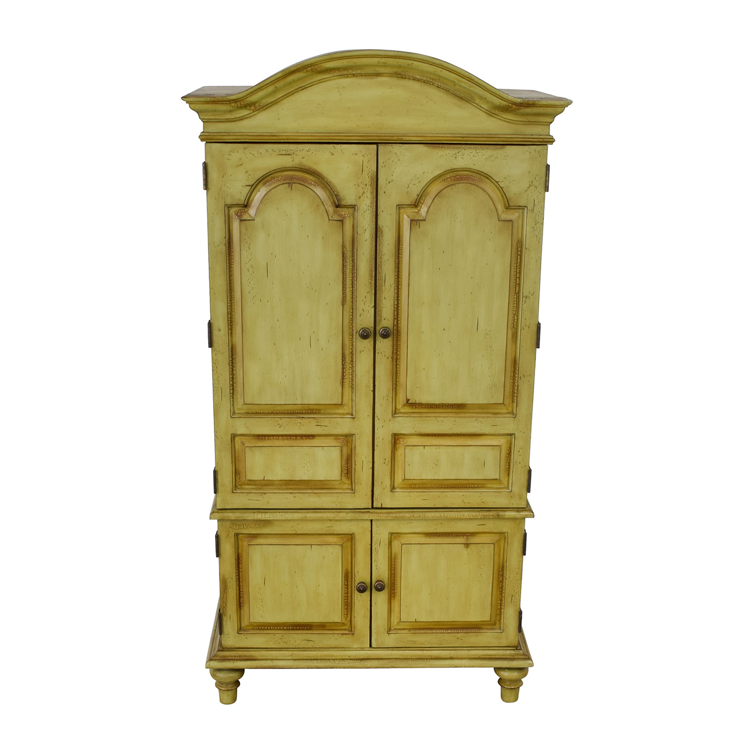 Domain Domain Green TV Media Armoire Wardrobes & Armoires