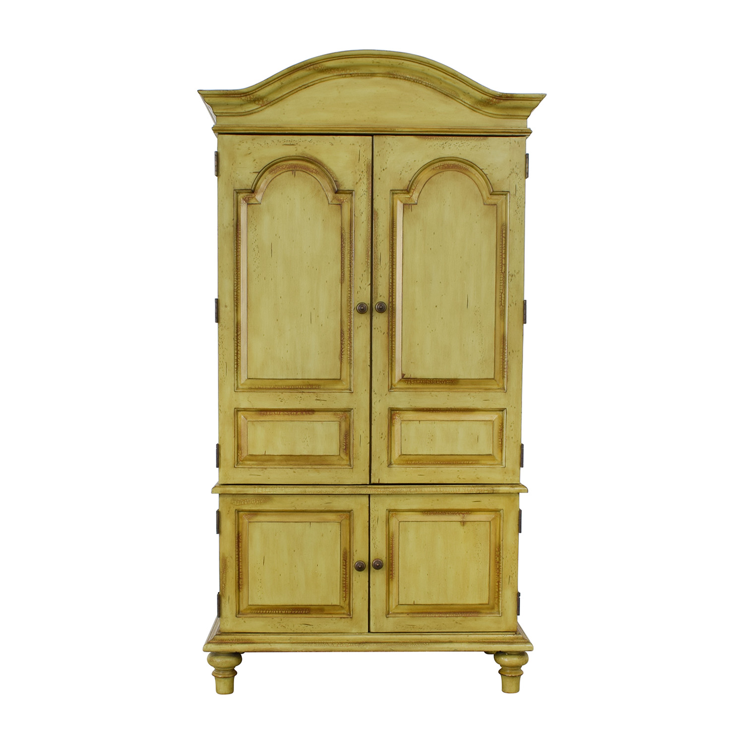 Domain Domain Green TV Media Armoire for sale