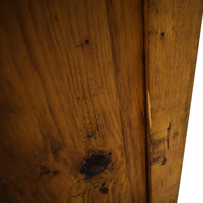 Natural Wood Wardrobe Armoire