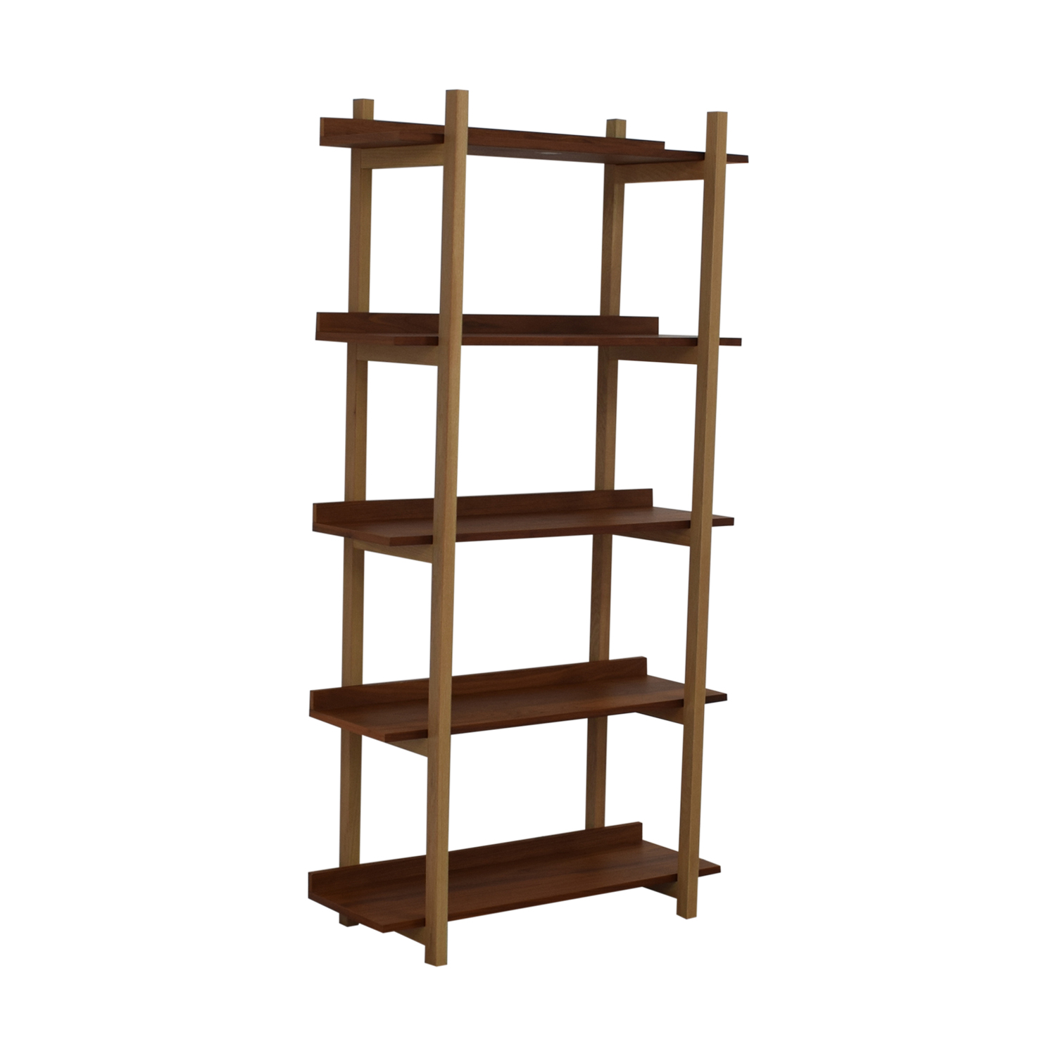 CB2 CB2 Stax Walnut Bookcase nj