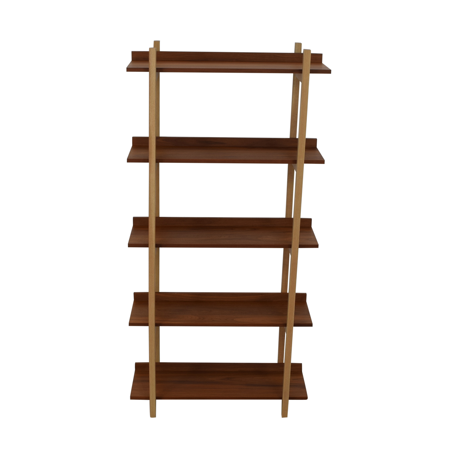 CB2 CB2 Stax Walnut Bookcase on sale