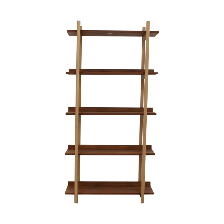 CB2 CB2 Stax Walnut Bookcase Storage