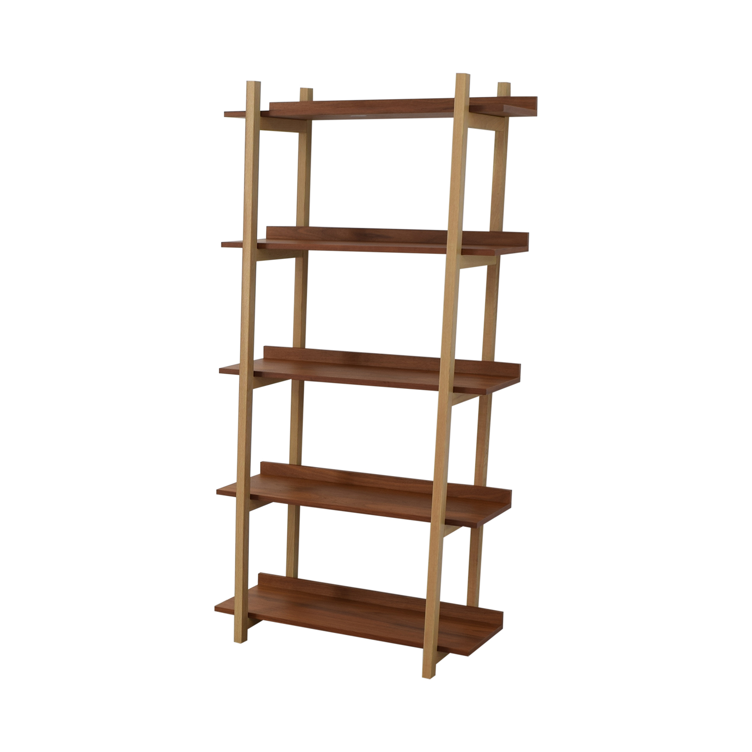 CB2 Stax Walnut Bookcase / Storage