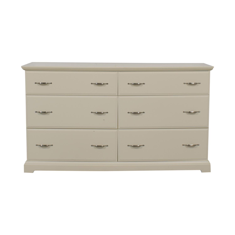IKEA Birkeland Chest Of Six Drawers / Dressers