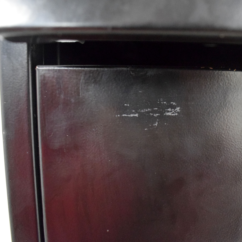 shop HON Black Five Drawer File Cabinet Hon Storage