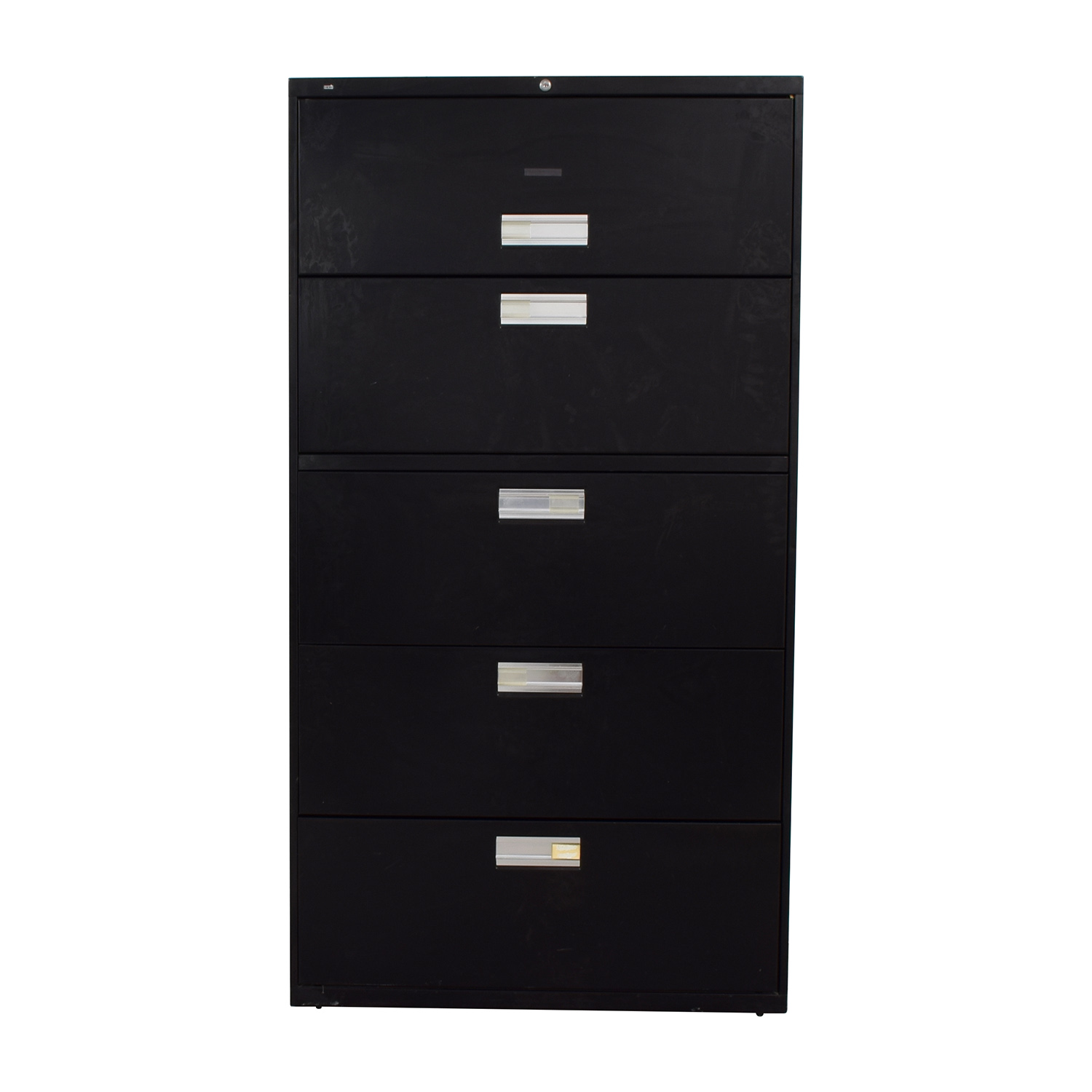 buy HON HON Black Five Drawer File Cabinet online