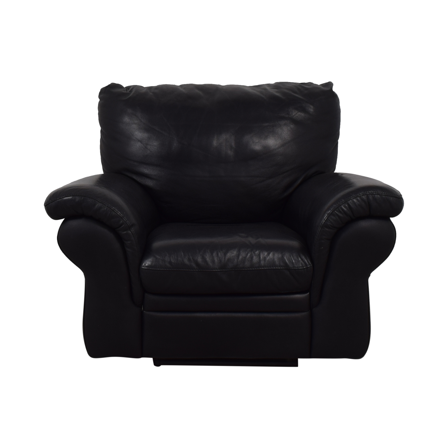 shop Bloomingdale's Black La-Z-Boy Recliner Bloomingdale's