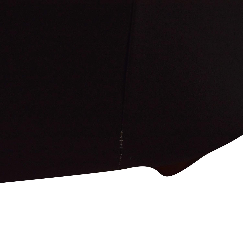 Bloomingdale's Bloomingdale's Black Two-Cushion Loveseat discount