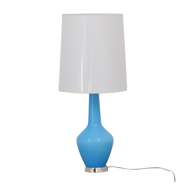buy Jonathan Adler Capri Turquoise Lamp Jonathan Adler Lamps