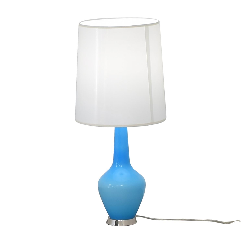 shop Jonathan Adler Capri Turquoise Lamp Jonathan Adler Lamps