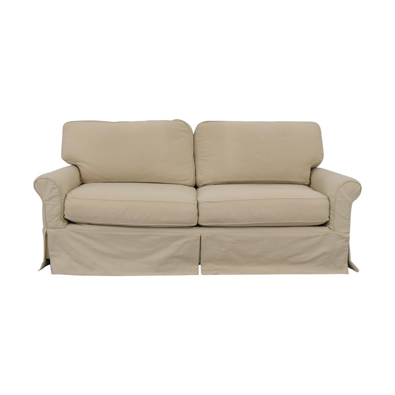 Crate & Barrel Crate & Barrel Bayside Sofa Classic Sofas