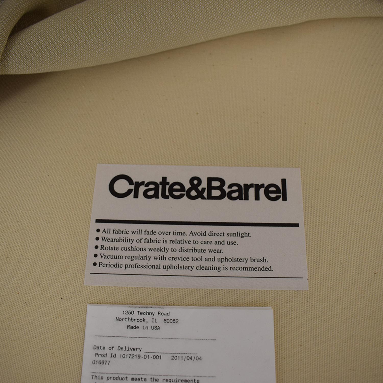 buy Crate & Barrel Bayside Sofa Crate & Barrel Sofas