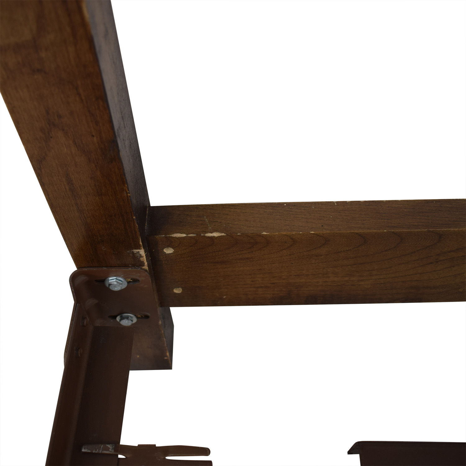 Double Wood Twin Bed Frame on Castors price