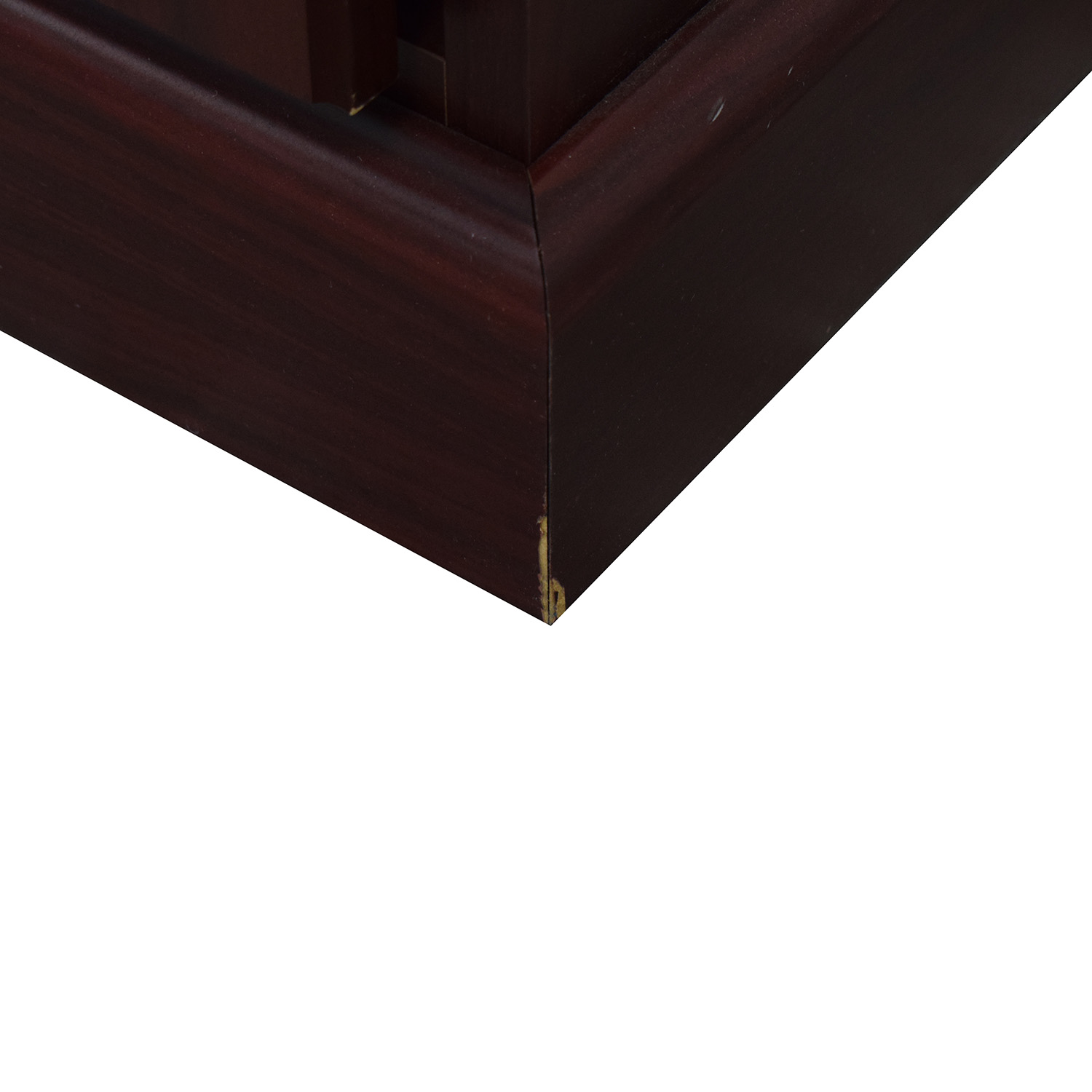Hon Hon Five-Drawer Desk burgundy