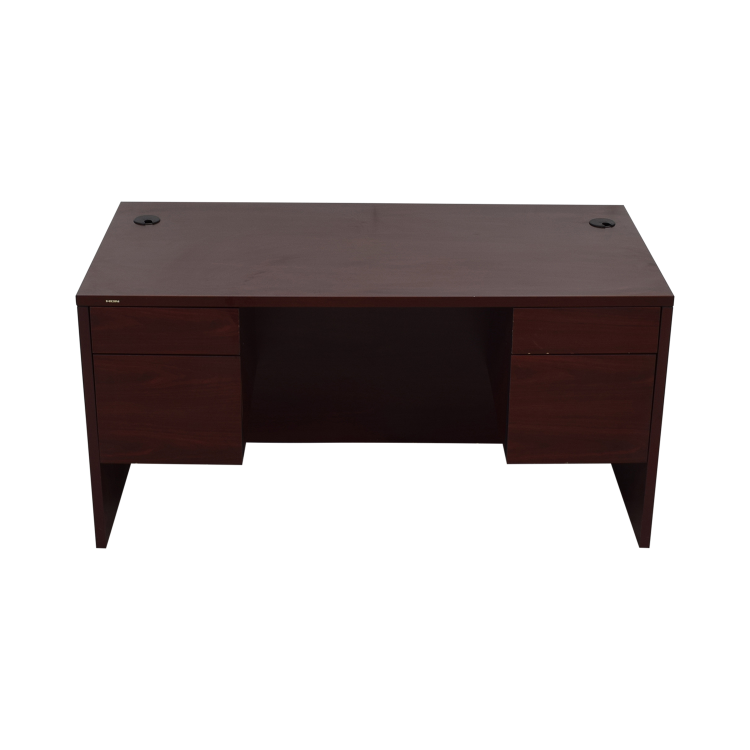 HON HON Four-Drawer Desk