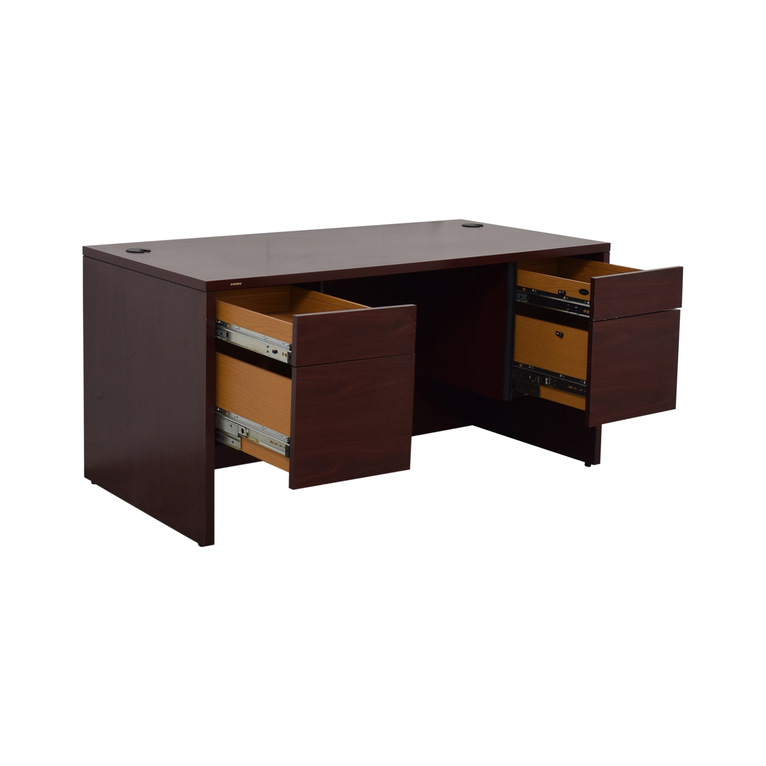 buy HON Four-Drawer Desk HON Tables