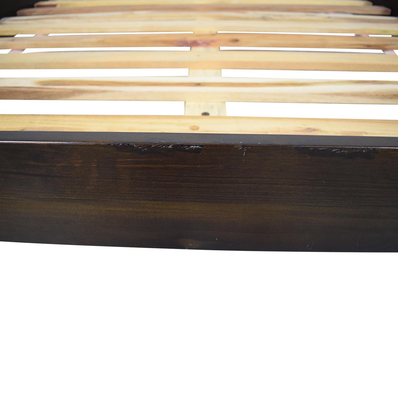 shop West Elm Full Platform Bed Frame West Elm Beds