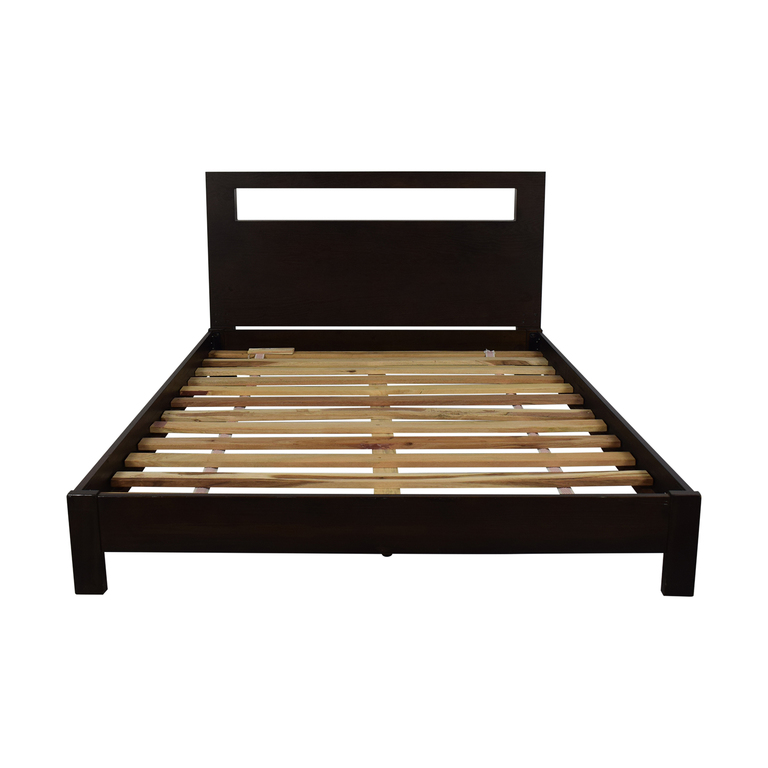 shop West Elm Full Platform Bed Frame West Elm