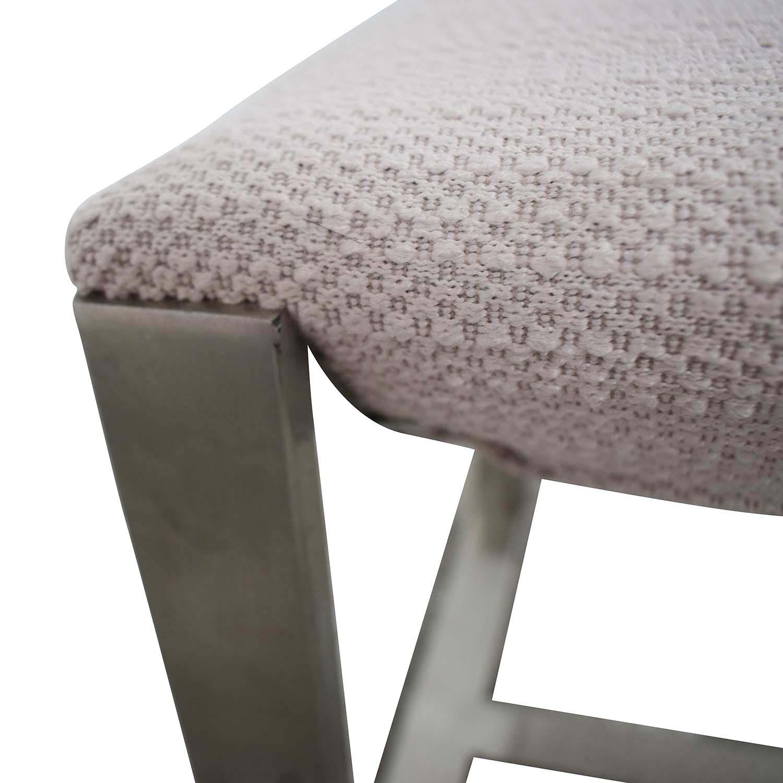 buy West Elm Grey Bench West Elm Chairs