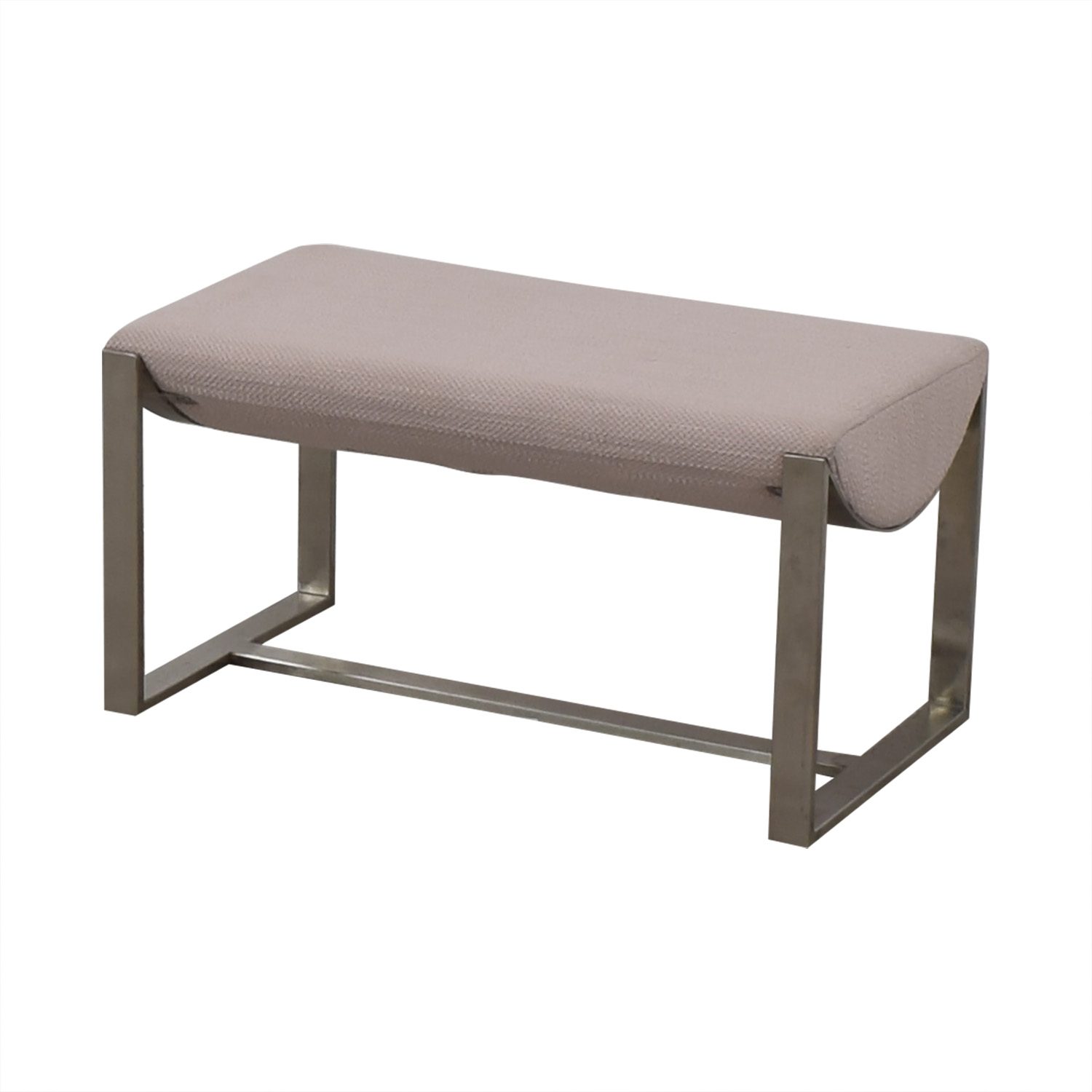 shop West Elm Grey Bench West Elm Chairs