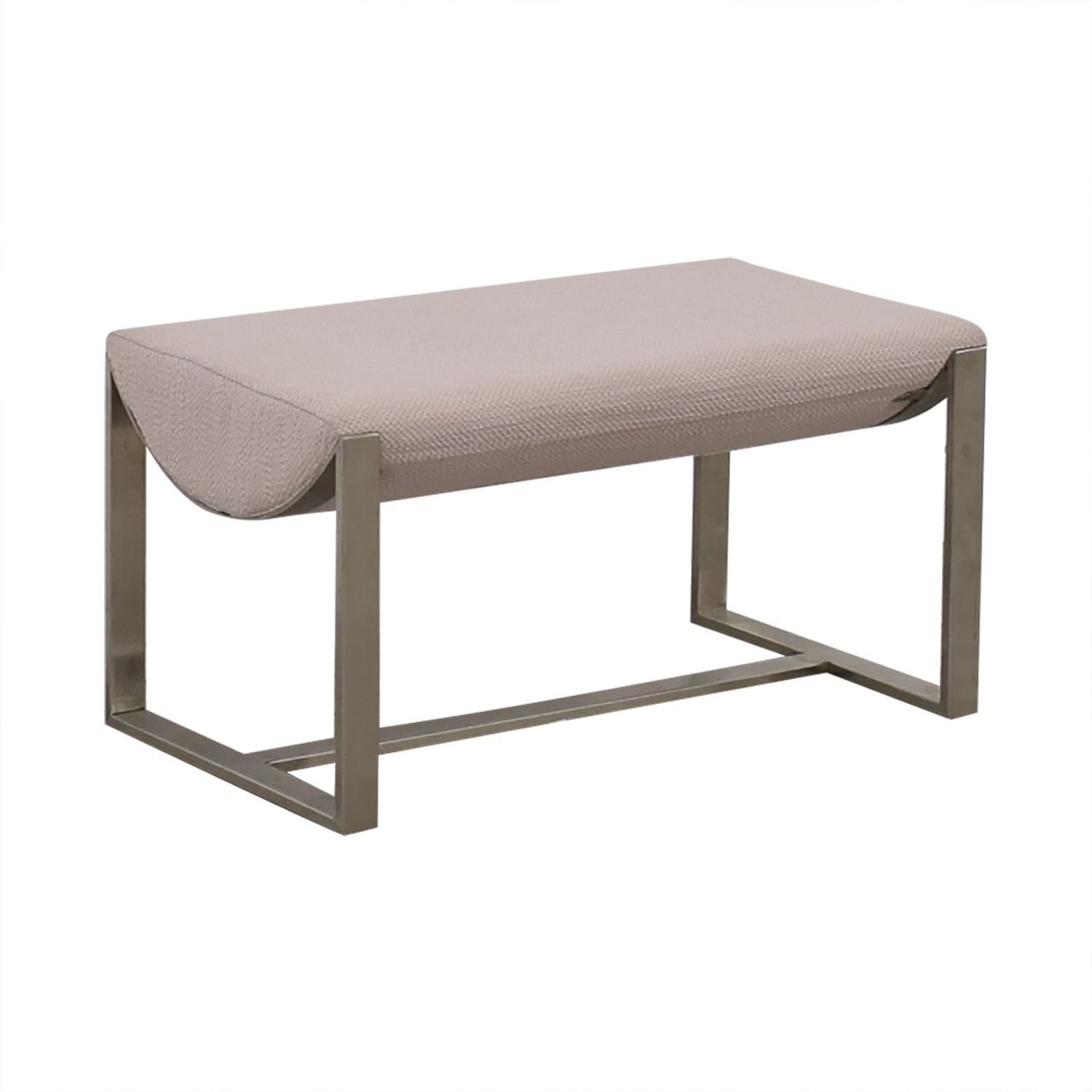buy West Elm Grey Bench West Elm Chairs