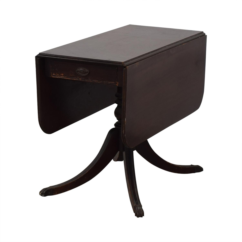 82 Off Brandt Furniture Brandt Vintage Drop Leaf Dining Table Tables