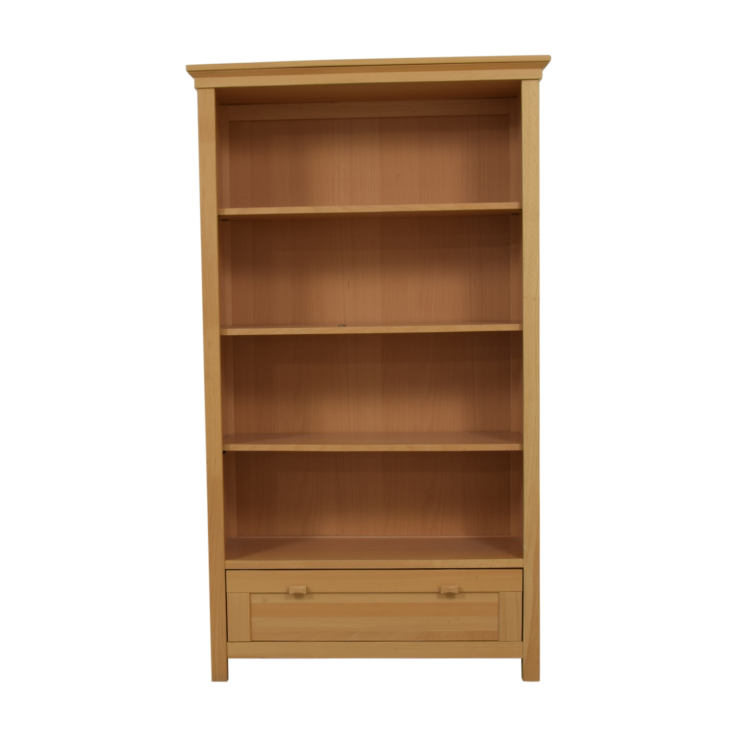 Romina Romina Single Drawer Wood Bookcase beige