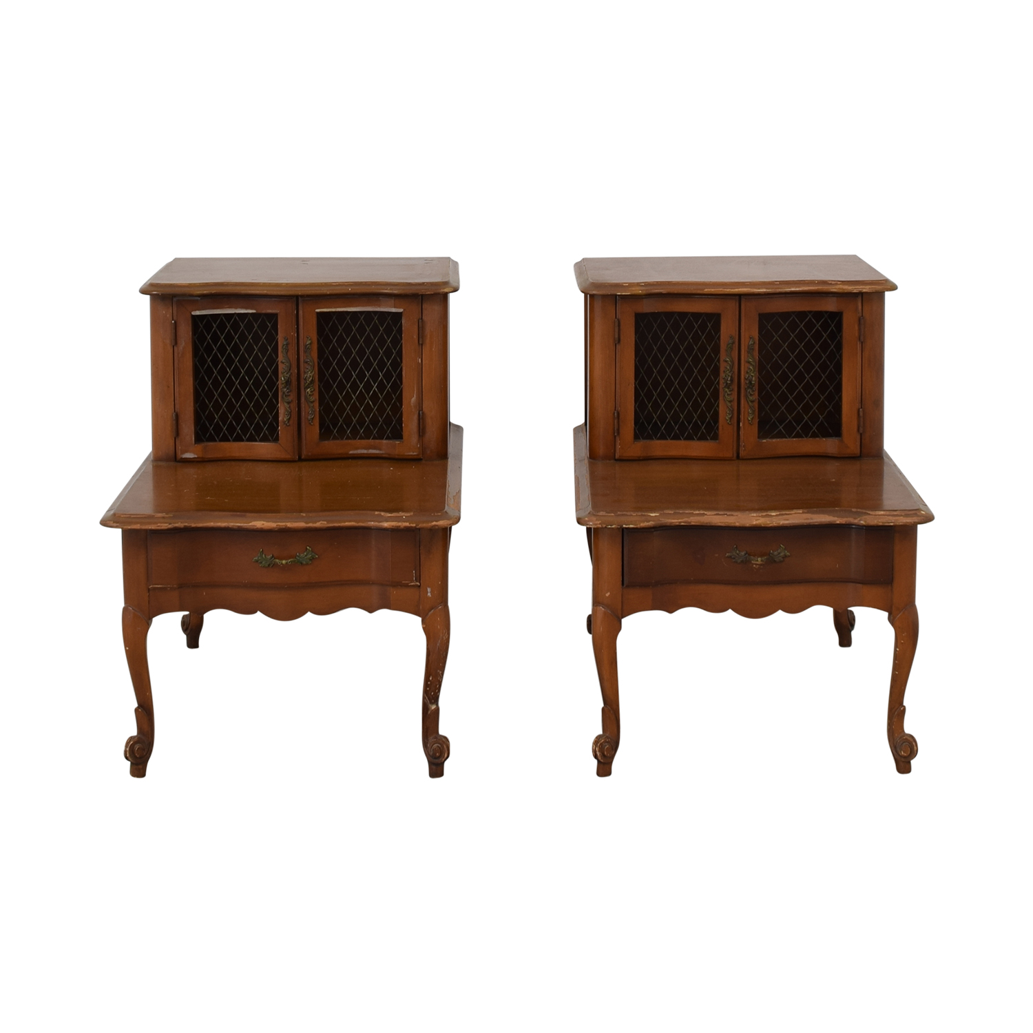 Vanleigh One-Drawer End Tables dimensions