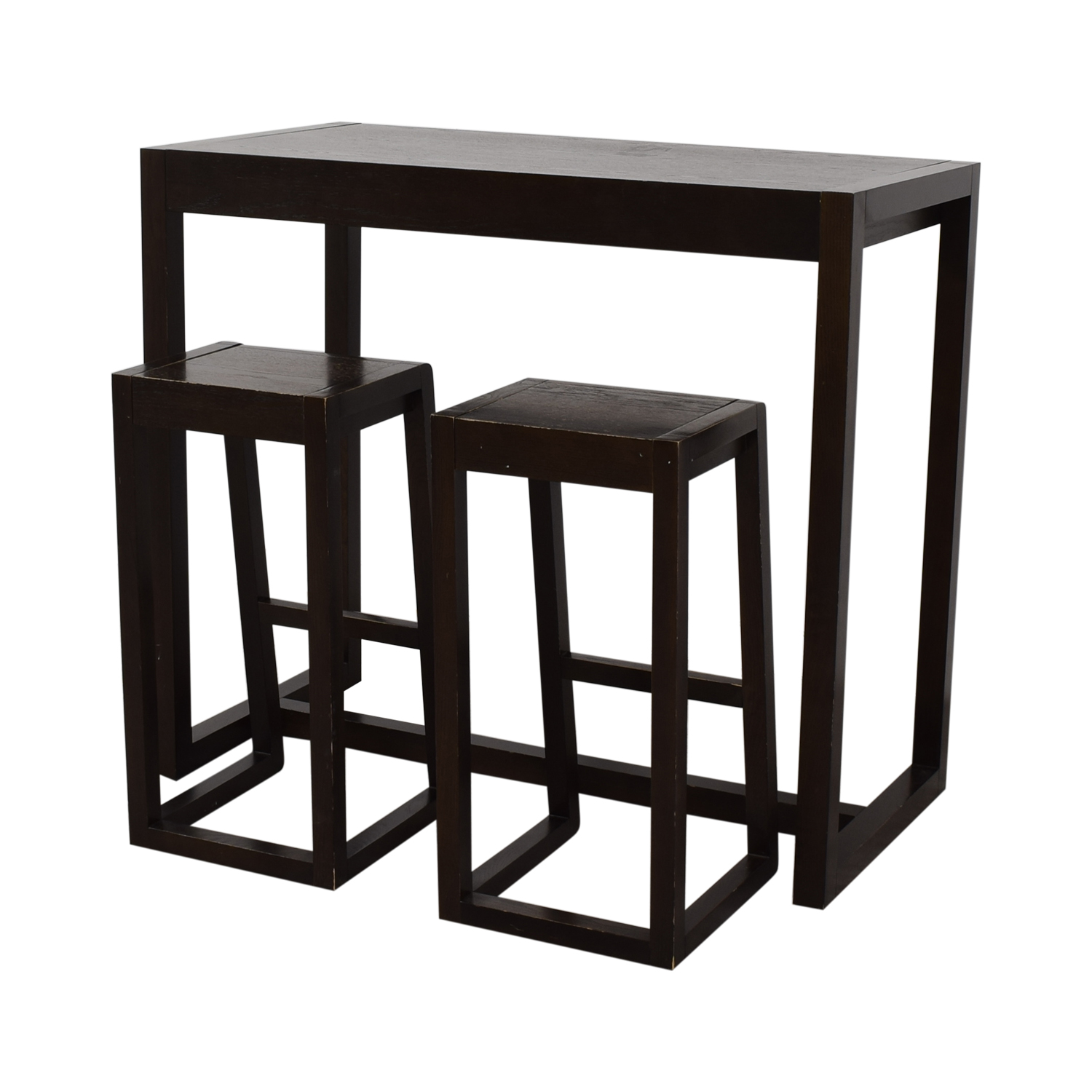 shop Counter Height Table and Stools  Tables