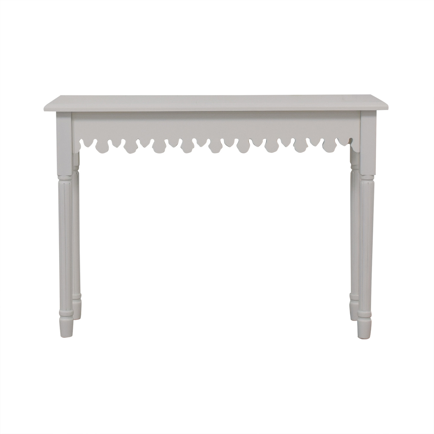 shop Brylane Home Artistic White Accent Table Brylane Home Accent Tables