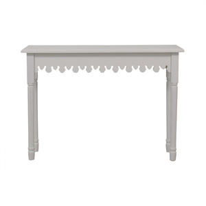 buy Brylane Home Artistic White Accent Table Brylane Home