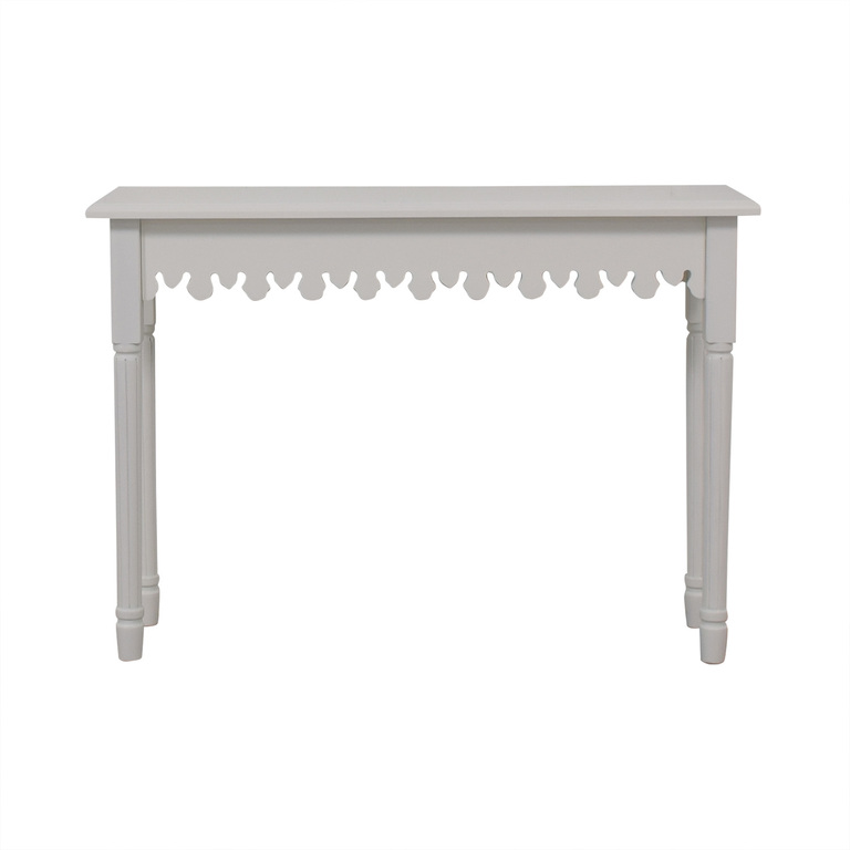 Brylane Home Brylane Home Artistic White Accent Table discount