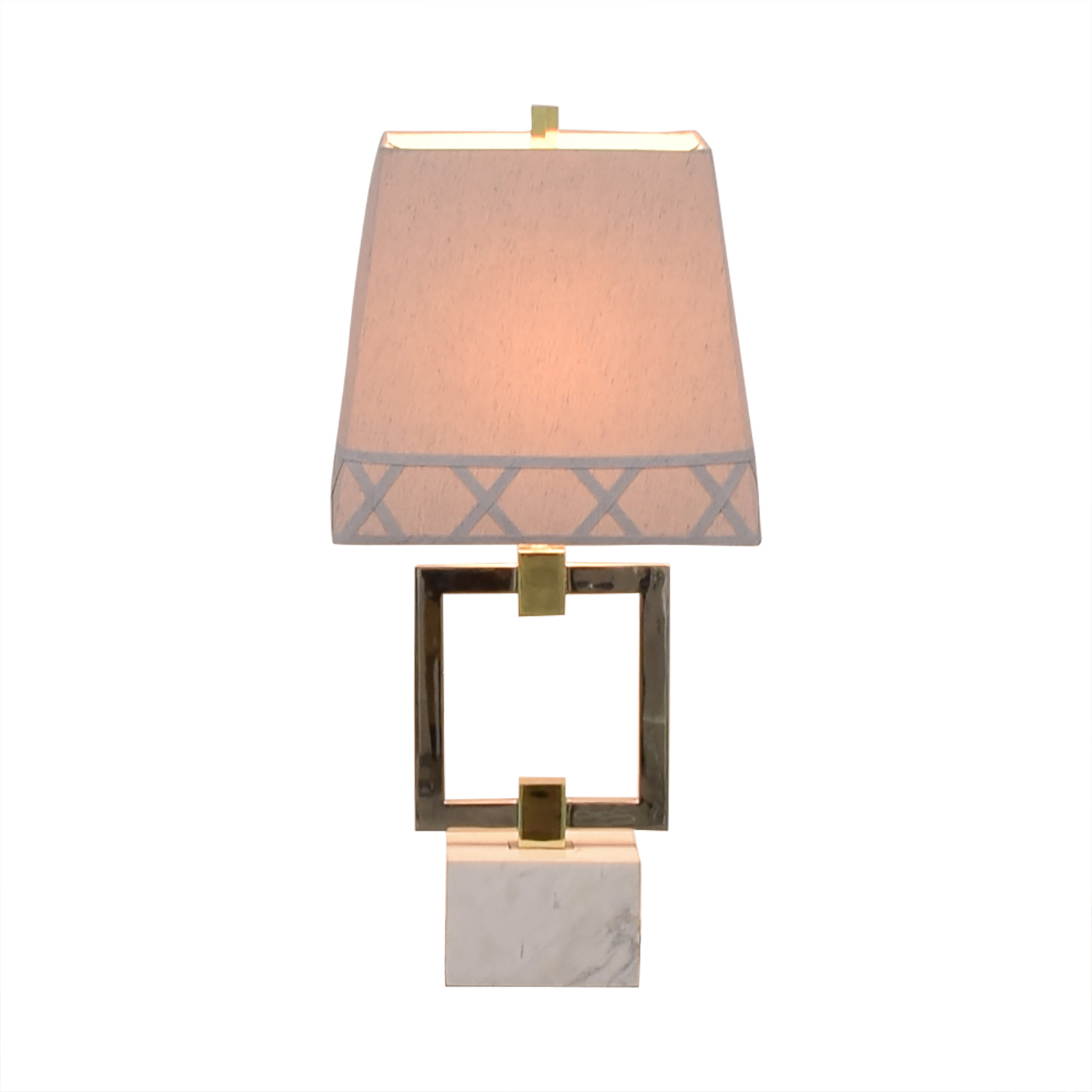 Jonathan Adler Jonathan Adler Nixon Grey Table Lamp Lamps