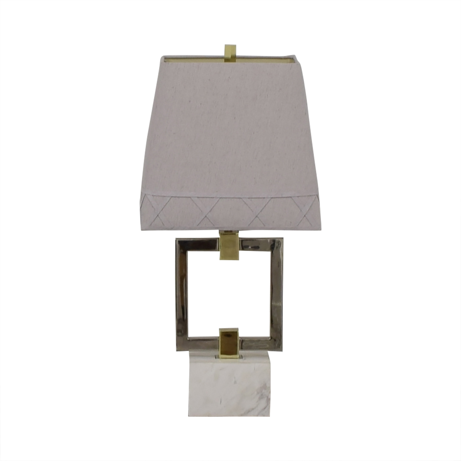 Jonathan Adler Nixon Grey Table Lamp / Decor