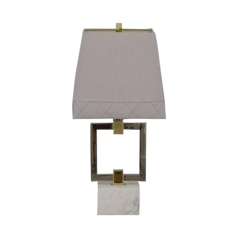 Jonathan Adler Jonathan Adler Nixon Grey Table Lamp dimensions