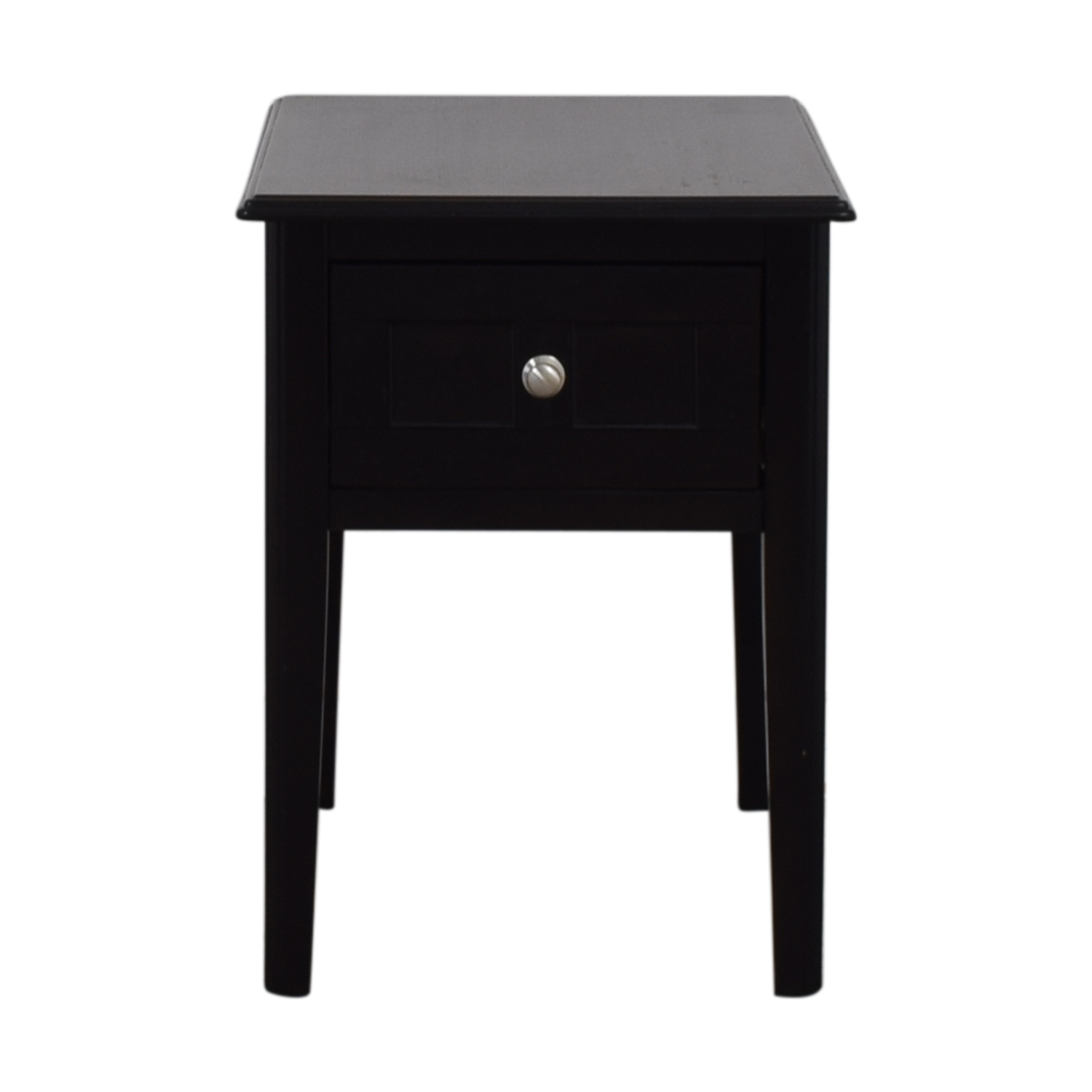 Ashley Furniture Ashley Furniture Black Single Drawer End Table black