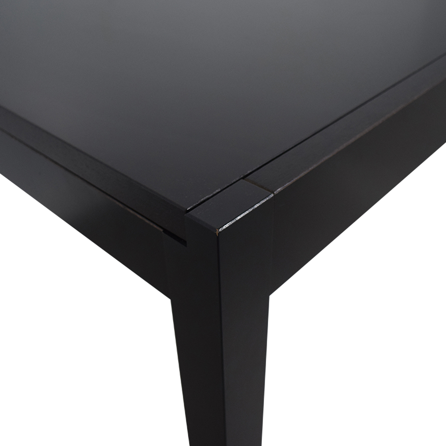 BoConcept Black Extendable Dining Table BoConcept
