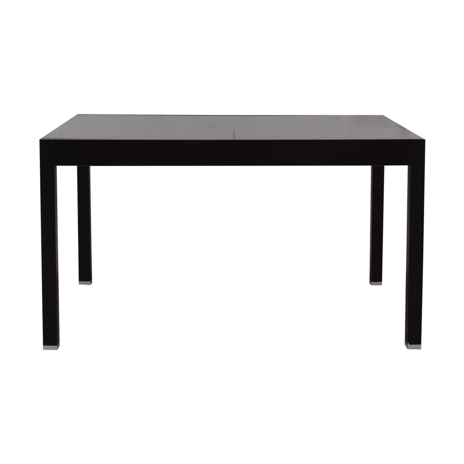 shop BoConcept Black Extendable Dining Table BoConcept Dinner Tables