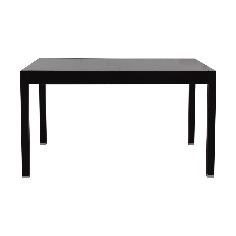 BoConcept BoConcept Black Extendable Dining Table