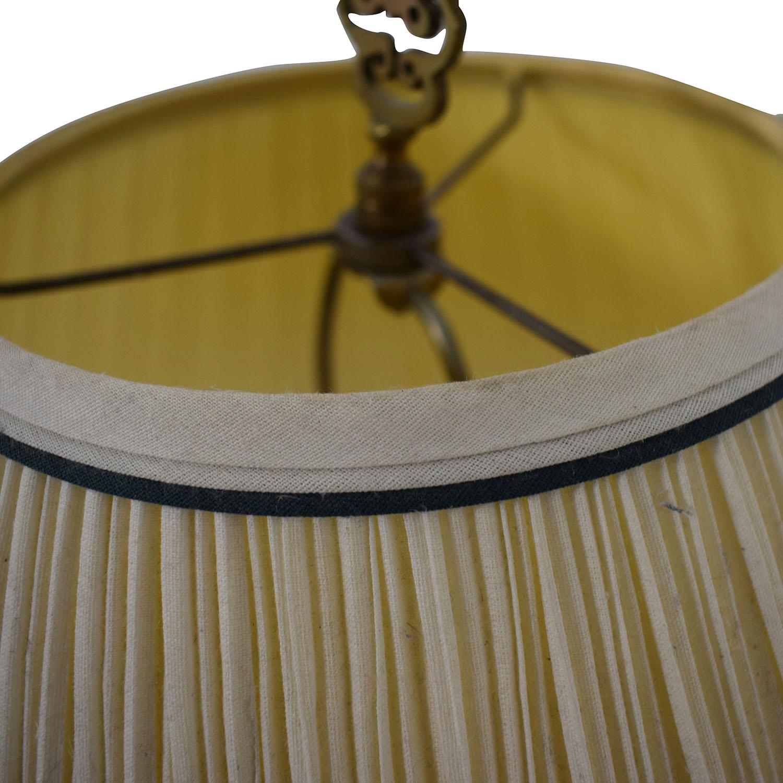 shop Vintage Floral Painted Lamp