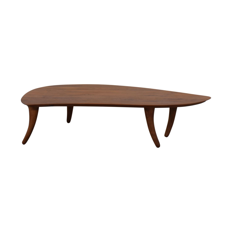shop Organic Modernism Mango Coffee Table Organic Modernism Tables