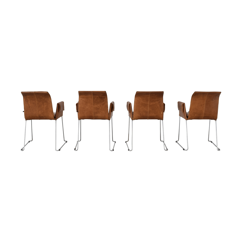 buy Karl-Friedrich Förster Design Mexico Cognac Dining Chairs Karl-Friedrich Förster Design Chairs