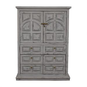Custom Made Rustic Painted Dresser discount