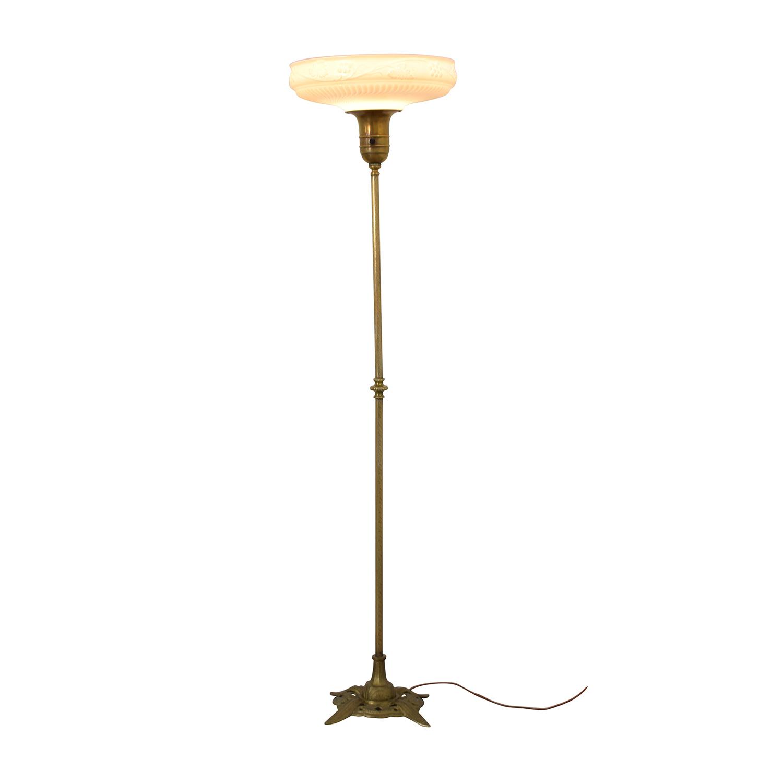 Antique Brass Floor Lamp dimensions