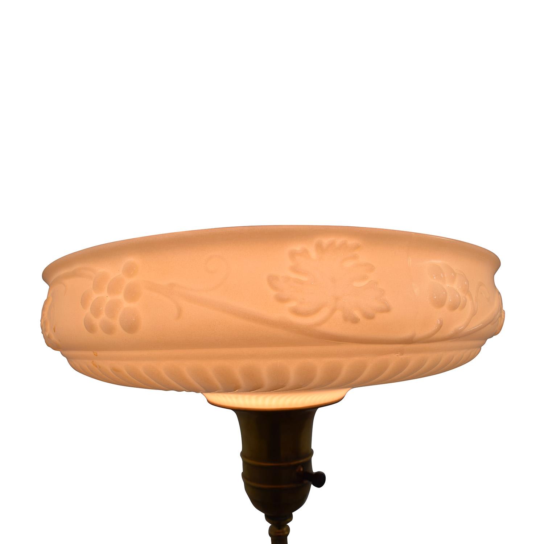 shop Antique Brass Floor Lamp