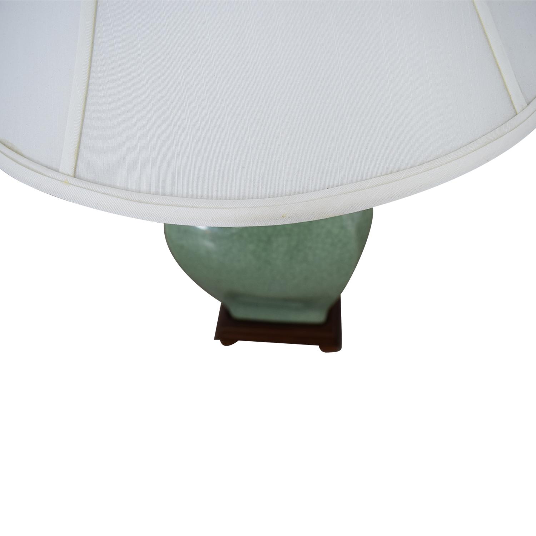 shop Green Ceramic Lamp  Lamps