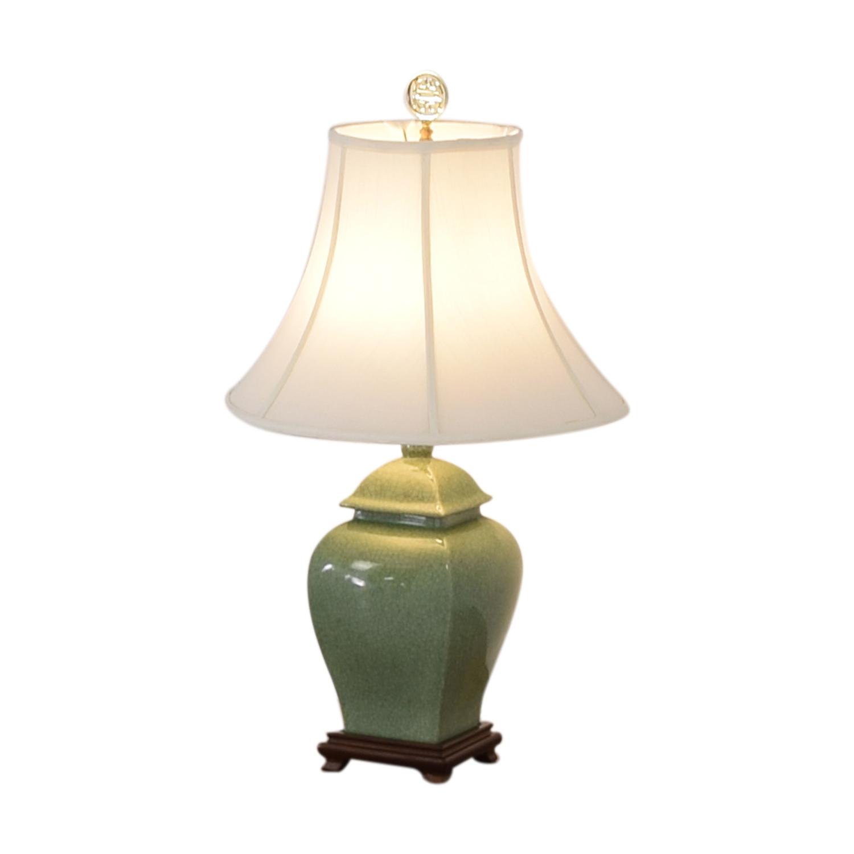 buy Green Ceramic Lamp