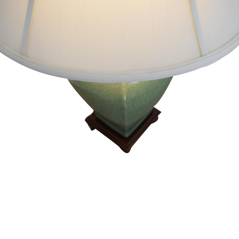 Green Ceramic Lamp discount